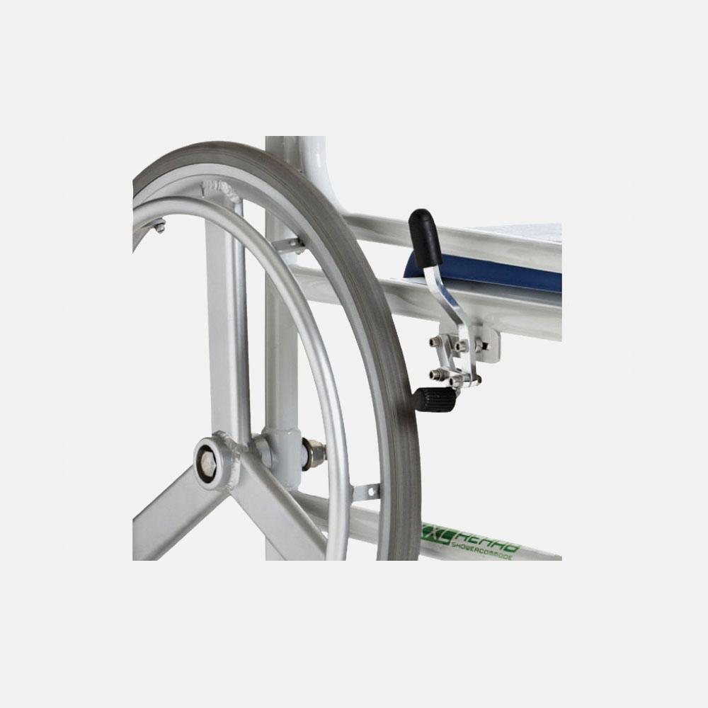 Кресло-коляска для душа и туалета DTRS LY-250-1200XXL(1)